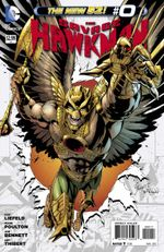 Couverture The Savage Hawkman (The New 52)