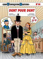 Couverture Dent pour dent - Les Tuniques bleues, tome 56