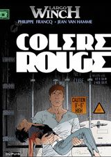 Couverture Colère rouge - Largo Winch, tome 18