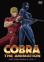 Affiche Cobra - The Animation : The PsychoGun