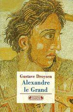 Couverture Alexandre le Grand