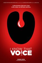 Affiche I Know That Voice