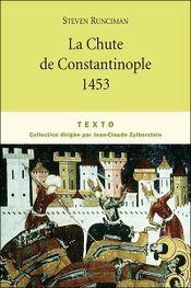 Couverture La chute de Constantinople