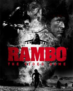 Jaquette Rambo : The Video Game