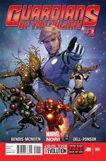 Couverture Guardians of the Galaxy (2013 - 2015)
