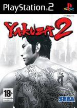 Jaquette Yakuza 2