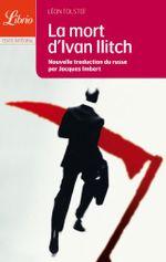 Couverture La Mort d'Ivan Ilitch