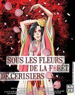 Affiche Sous les Fleurs de la forêt de cerisiers