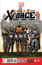 Couverture Cable and X-Force (2012 - 2014)
