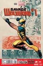 Couverture Savage Wolverine (2013 - 2014)
