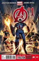 Couverture Avengers (2013 - 2015)