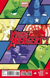 Couverture Young Avengers (2013 - 2014)