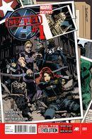 Couverture Secret Avengers (2013 - 2014)