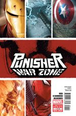Couverture Punisher War Zone