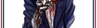 Illustration Le monde merveilleux de la propagande ricaine abusive.