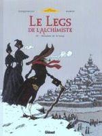 Couverture Monsieur de Saint Loup - Le Legs de l'Alchimiste, tome 3