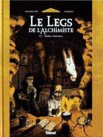 Couverture Maître Helvetius - Le Legs de l'Alchimiste, tome 4