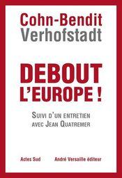 Couverture Debout l'Europe !
