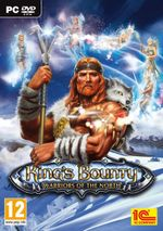Jaquette King's Bounty: Warriors of the North