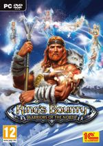 Jaquette King's Bounty : Warriors of the North