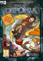 Jaquette Chaos on Deponia