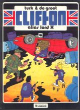 Couverture Alias Lord X - Clifton, tome 4