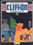 Couverture Le Voleur qui rit - Clifton, tome 2