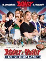 Couverture Astérix & Obélix : Au service de sa majesté - L'Album du film
