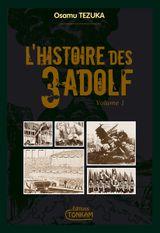 Couverture L'Histoire des 3 Adolf, Volume 1
