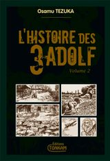 Couverture L'Histoire des 3 Adolf, tome 2