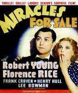 Affiche Miracles à vendre