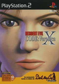Jaquette Resident Evil : Code Veronica X