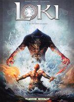 Couverture Le feu sous la glace - Loki, tome 1