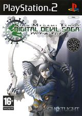 Jaquette Shin Megami Tensei: Digital Devil Saga