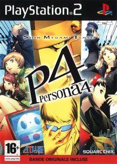 Jaquette Shin Megami Tensei : Persona 4