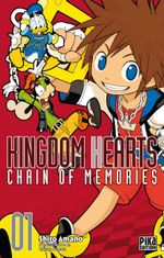 Couverture Kingdom Hearts Chain of Memories, Tome 1