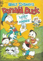 Couverture Perdus dans les Andes ! - Donald Duck
