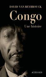 Couverture Congo, une histoire