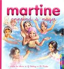 Couverture Martine apprend à nager
