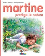 Couverture Martine protège la nature
