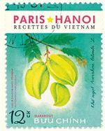 Couverture Paris Hanoï, recettes du Vietnam
