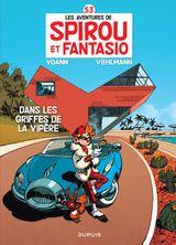 Couverture Dans les griffes de la Vipère - Spirou et Fantasio, tome 53