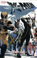 Couverture X-Men Legacy: Emplate
