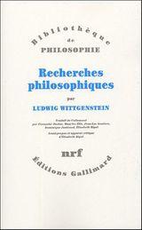 Couverture Recherches philosophiques