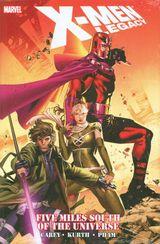 Couverture X-Men Legacy: Five Miles South of the Universe