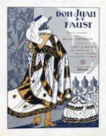 Affiche Don Juan et Faust
