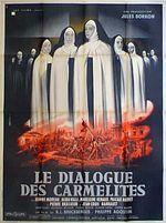 Affiche Le dialogue des carmelites