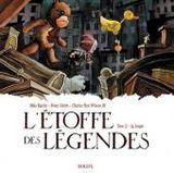 Couverture La jungle - L'étoffe des légendes, tome 2