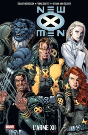 Couverture L'Arme XII - New X-Men, tome 2