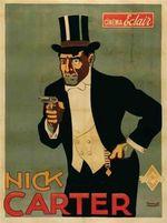 Affiche Nick Carter, le roi des détectives